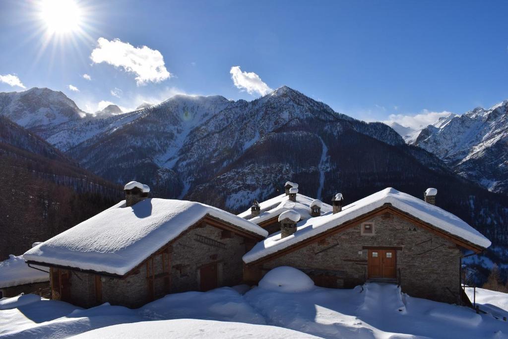 Casa de temporada Borgata Sagna Rotonda (Itália Marmora ...