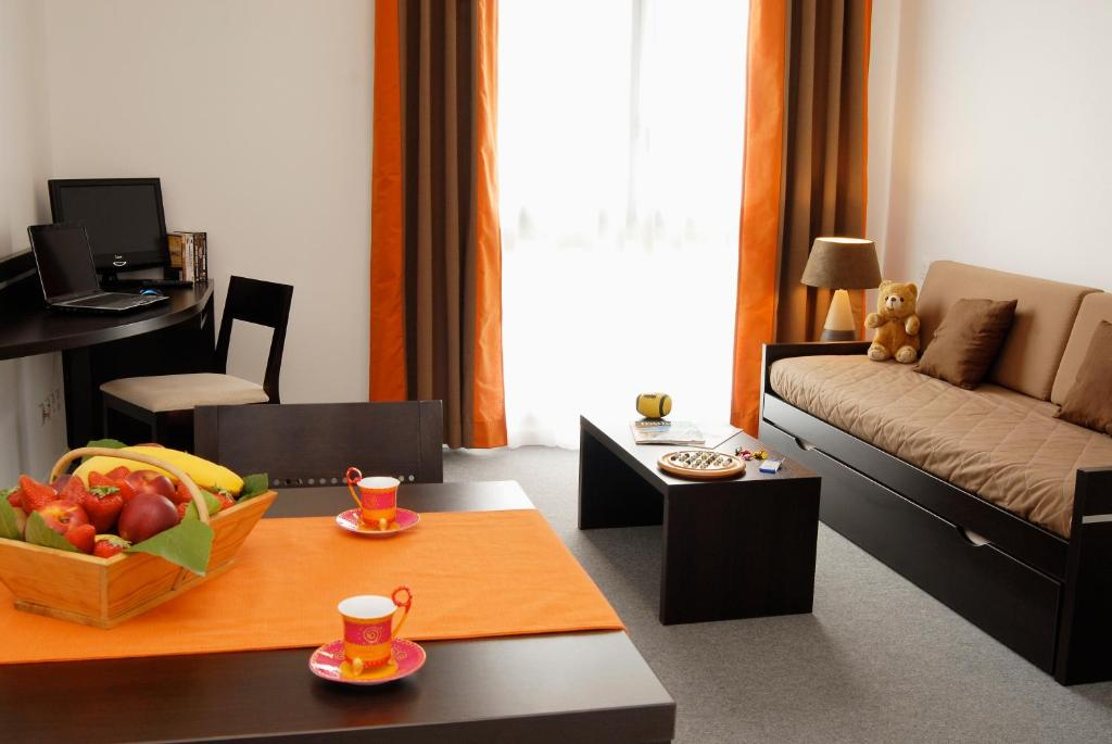 N m a appart 39 hotel toulouse saint martin r servation for Reserver un appart hotel