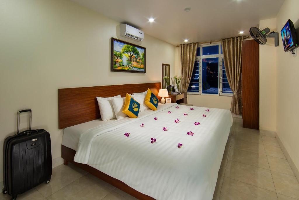 Phòng Deluxe Đôi hoặc có có 2 giường đơn có tầm nhìn ra quang cảnh xung quanh