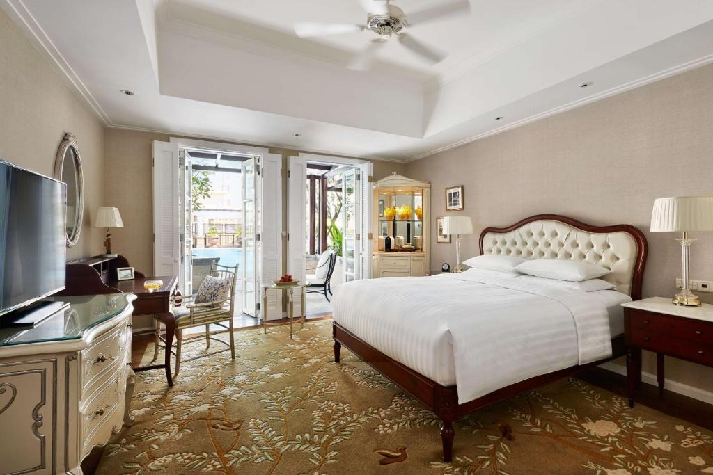 Phòng Deluxe 1 Giường cỡ King Nhìn ra Công viên