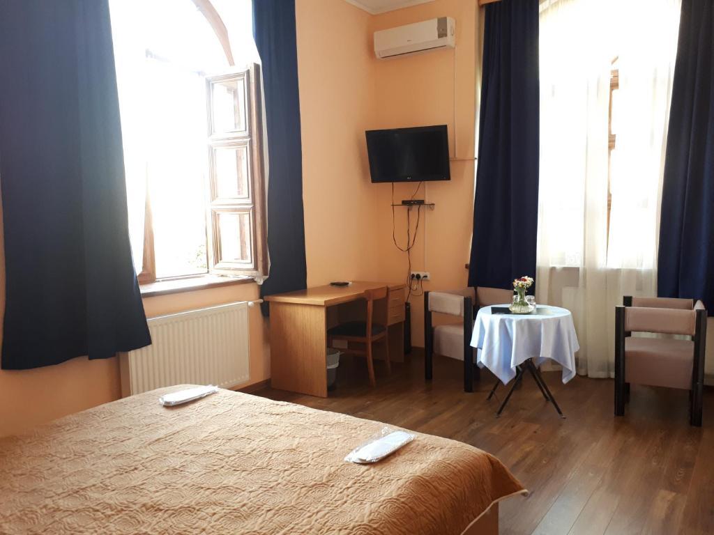 Cama ou camas em um quarto em Art Hotel Winery 1896