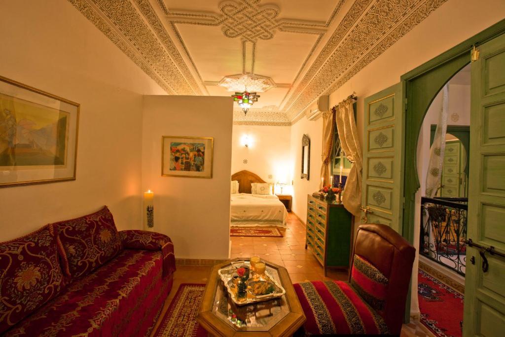 Riad cherihane chambres d 39 h tes marrakech for Chambre d hotes marrakech