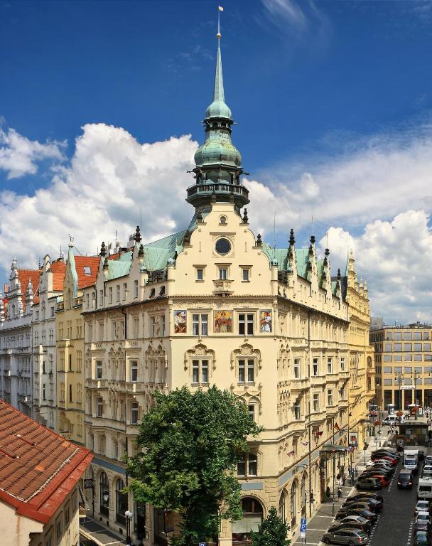 Hotel Paris Prague R Servation Gratuite Sur Viamichelin
