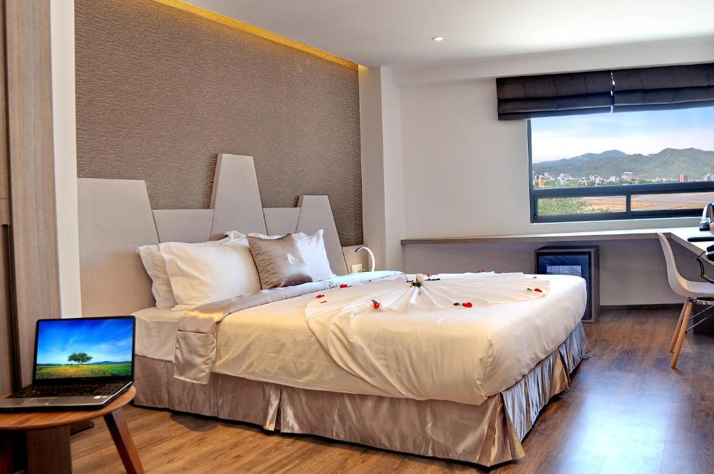 Phòng Đôi hoặc có 2 Giường đơn với tầm nhìn ra Một phần Biển