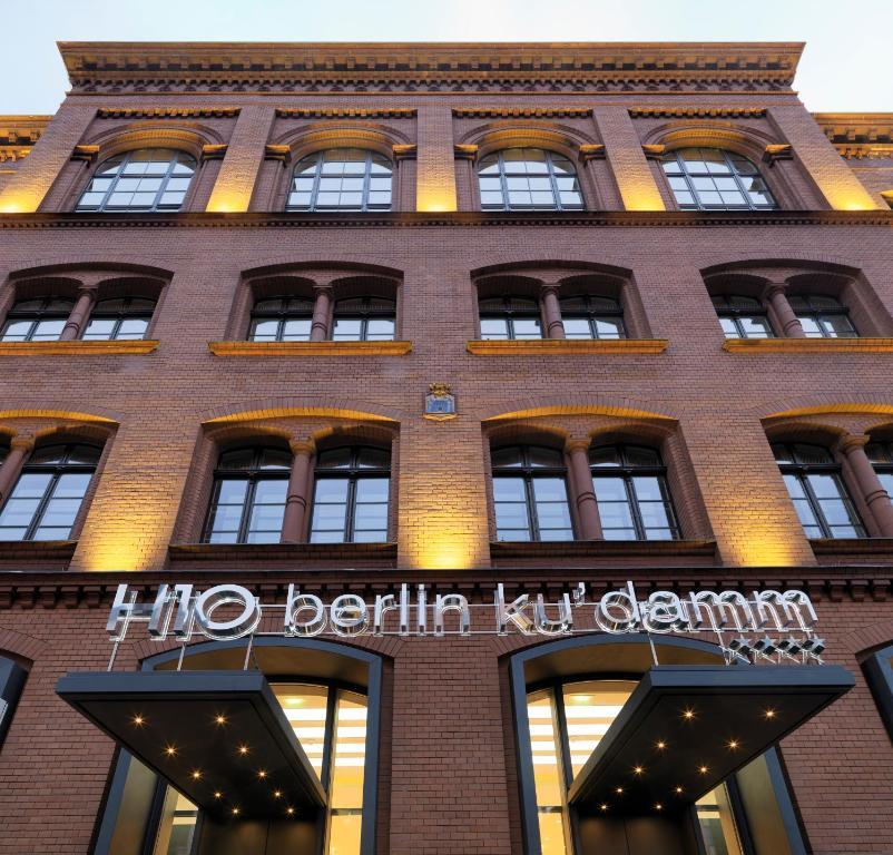 H10 berlin ku 39 damm r servation gratuite sur viamichelin for 4 design hotel q berlin