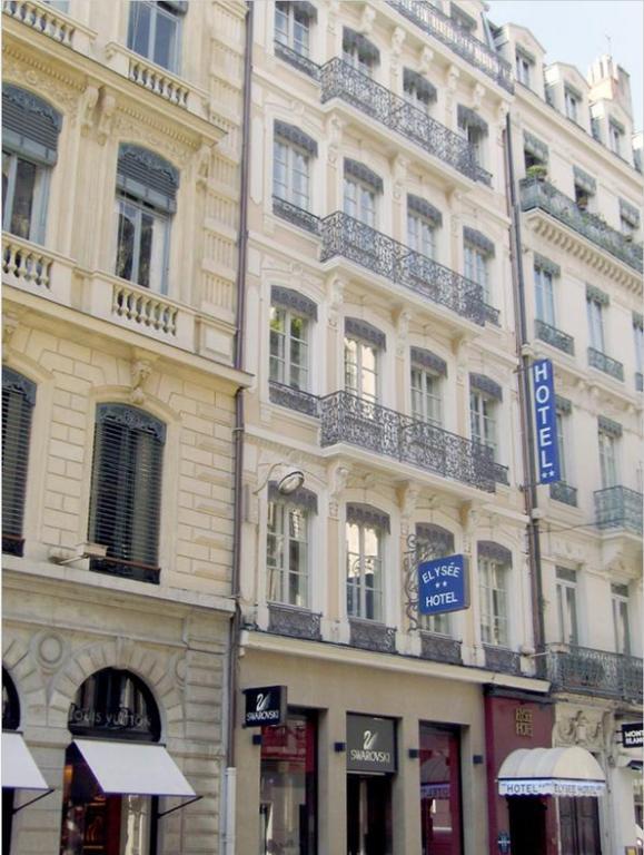 Hotel elys e r servation gratuite sur viamichelin for Hotels 69002 lyon