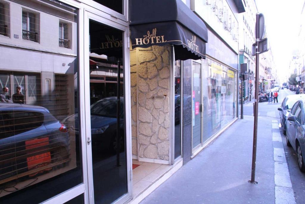 Jeff Hotel  Rue Richer  Opera  Paris
