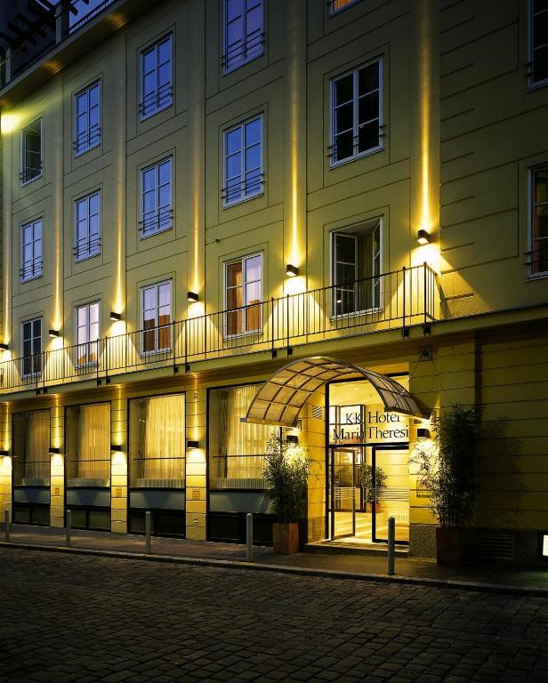 K k hotel maria theresia wien informationen und for Design hotel 1070 wien