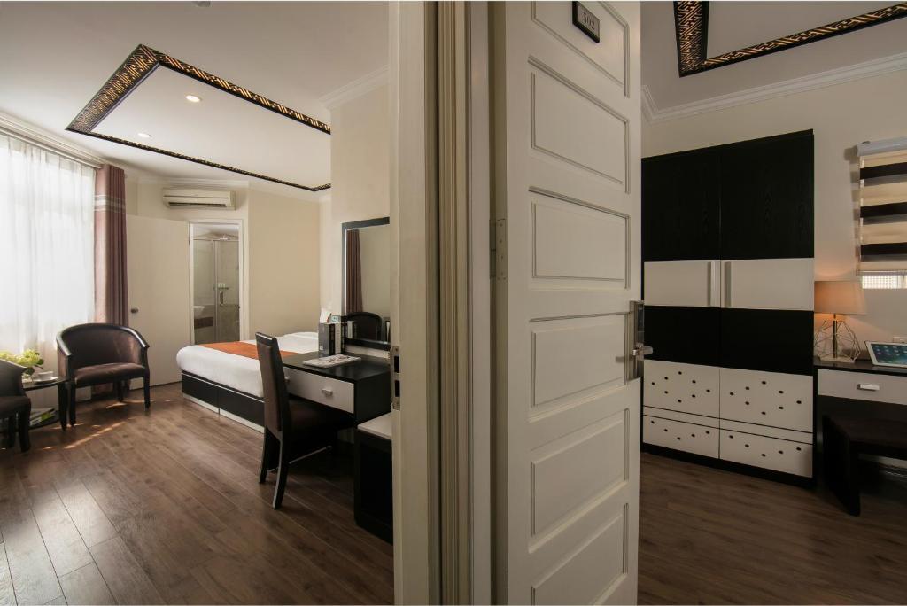 Phòng có cửa nối với nhau