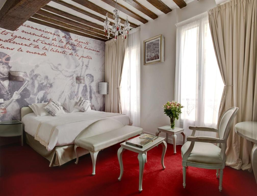 Boutique h tel konfidentiel paris book your hotel with viamichelin - Boutique michelin paris ...
