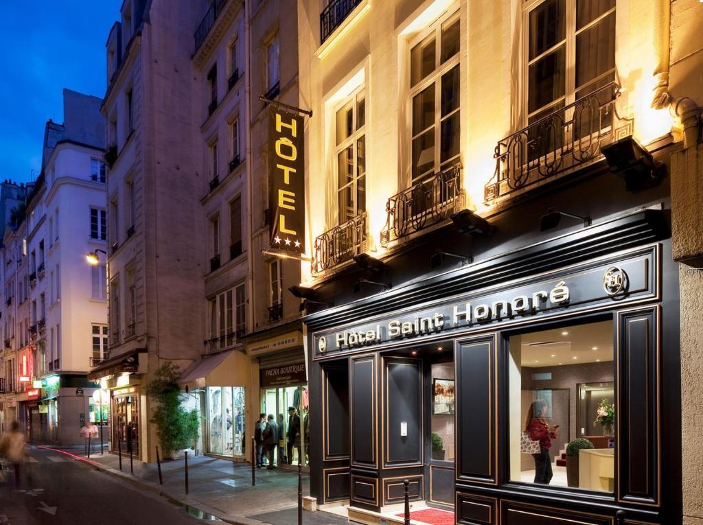 Hotel saint honore paris online booking viamichelin for Reservation hotels paris