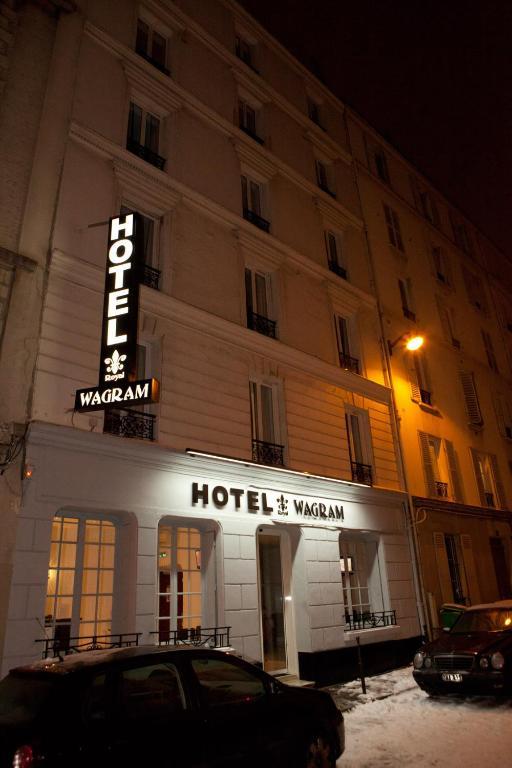 Royal wagram r servation gratuite sur viamichelin for Hotels 75017