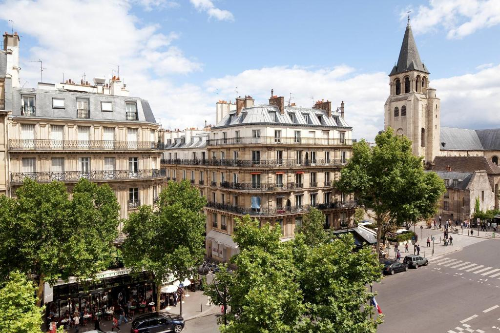 Au manoir saint germain parijs viamichelin informatie for Hotels 75006