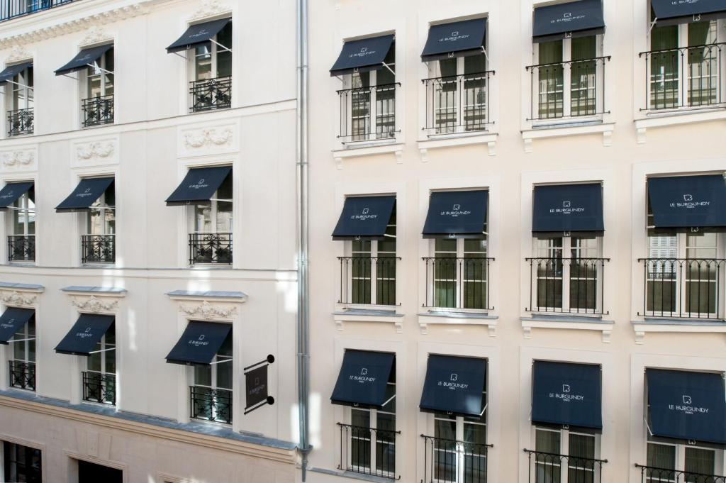 Le burgundy paris r servation gratuite sur viamichelin for Reservation hotel gratuite paris