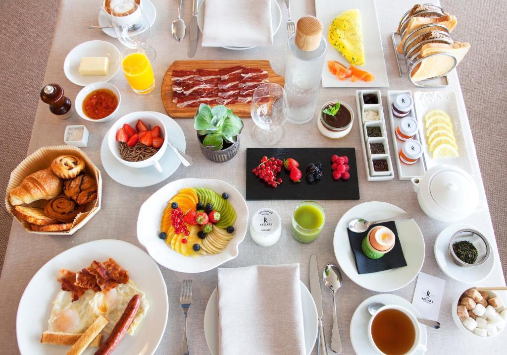 Opciones de desayuno para los huéspedes de Akelarre - Relais & Châteaux