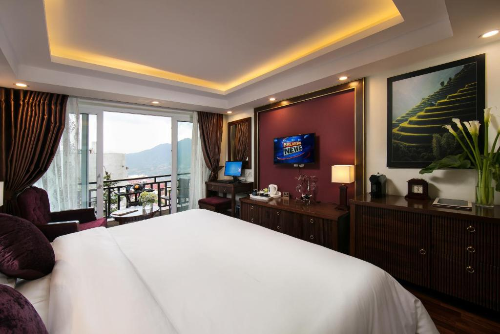 Phòng Premier Deluxe giường đôi hoặc 2 giường đơn