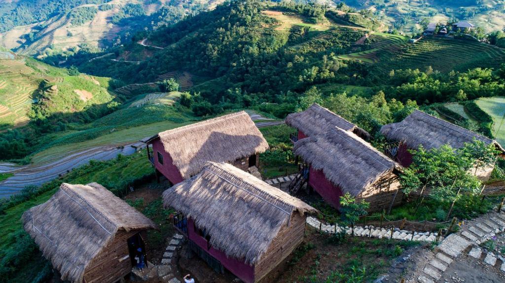 Tầm nhìn từ trên cao của Sapa Eco-Home - Mountain Retreat