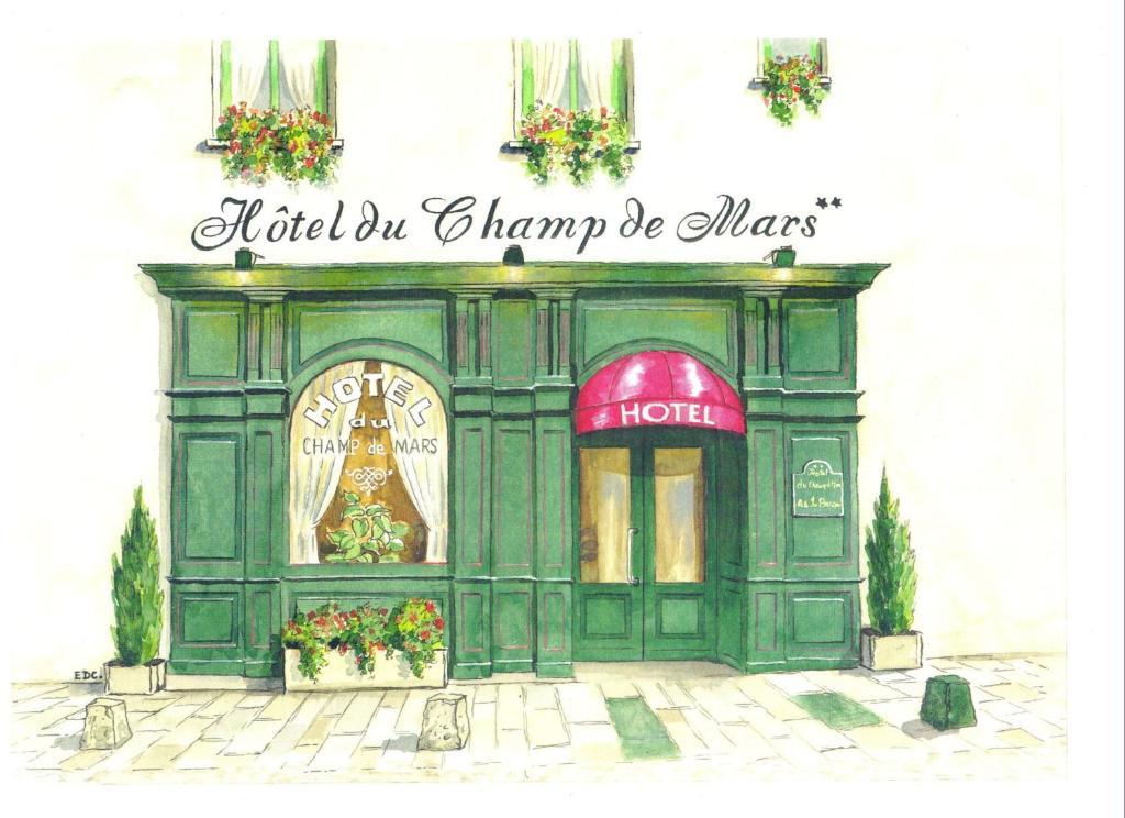 Contact H U00f4tel Du Champ De Mars De Saint-brieuc