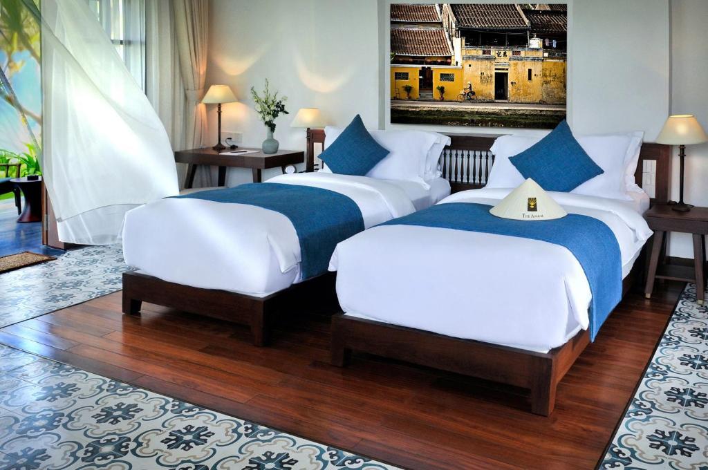 Phòng Premium 2 Giường đơn Nhìn ra Biển