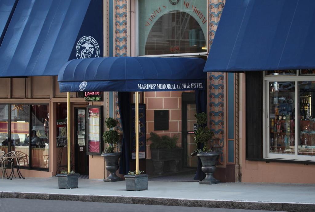 Marines Memorial Club Amp Hotel Union Square San