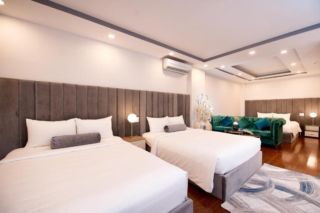 Suite Với Giường Cỡ King Không Có Cửa Sổ