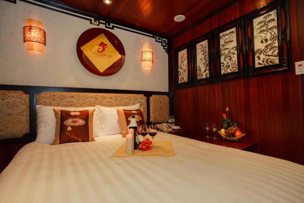 Cabin Deluxe Giường Đôi/2 Giường Đơn Có Ban Công Riêng - 2 Ngày 1 Đêm