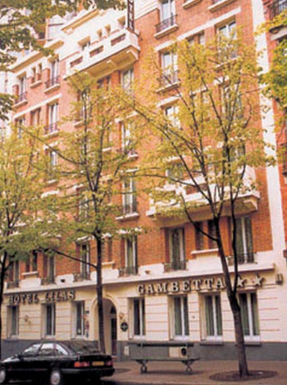 Hotel Porte Des Lilas Gambetta