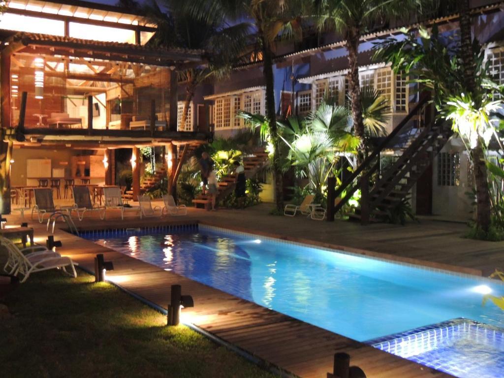 A piscina localizada em Flat Coqueiros ou nos arredores