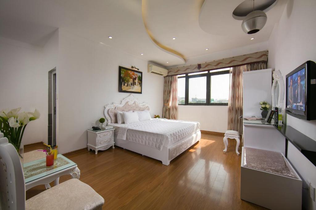 Phòng Oriental Giường Đôi Nhìn Ra Thành Phố Hoặc Hồ