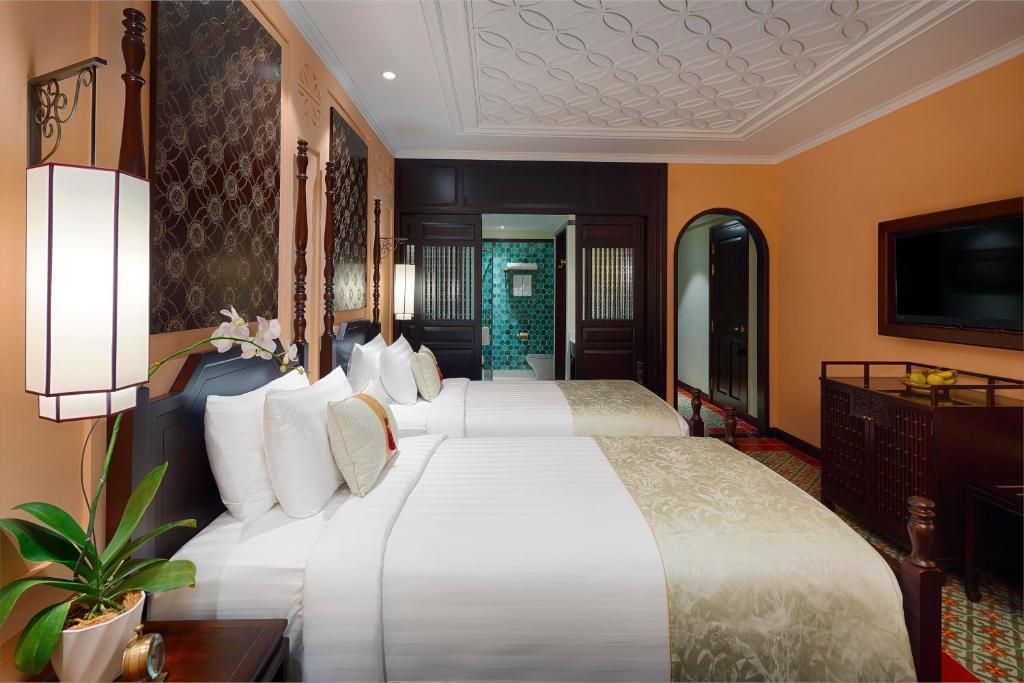 Suite có 2 Giường Đơn và Nhìn ra Thành phố