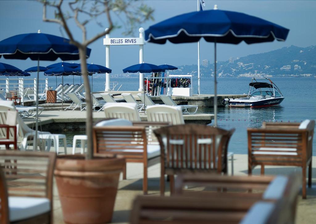 Souvent Hotel Belles Rives, Mediterranean Sea OI15