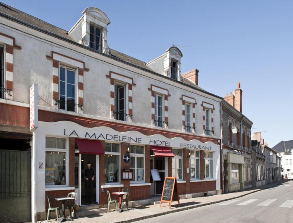 Hotel La Madeleine Saint Benoit Sur Loire