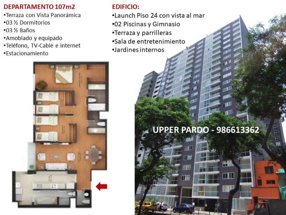 Upper Pardo Luxury Condo Miraflores Lima Ver Oferta