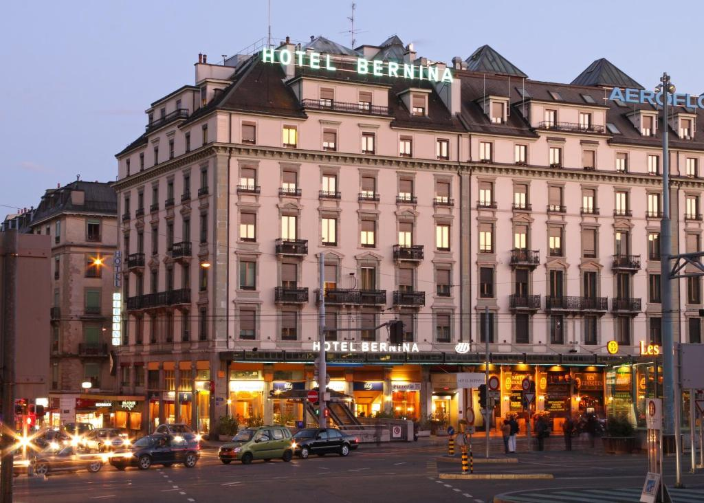 Hotel bernina geneva r servation gratuite sur viamichelin for Hotels geneve