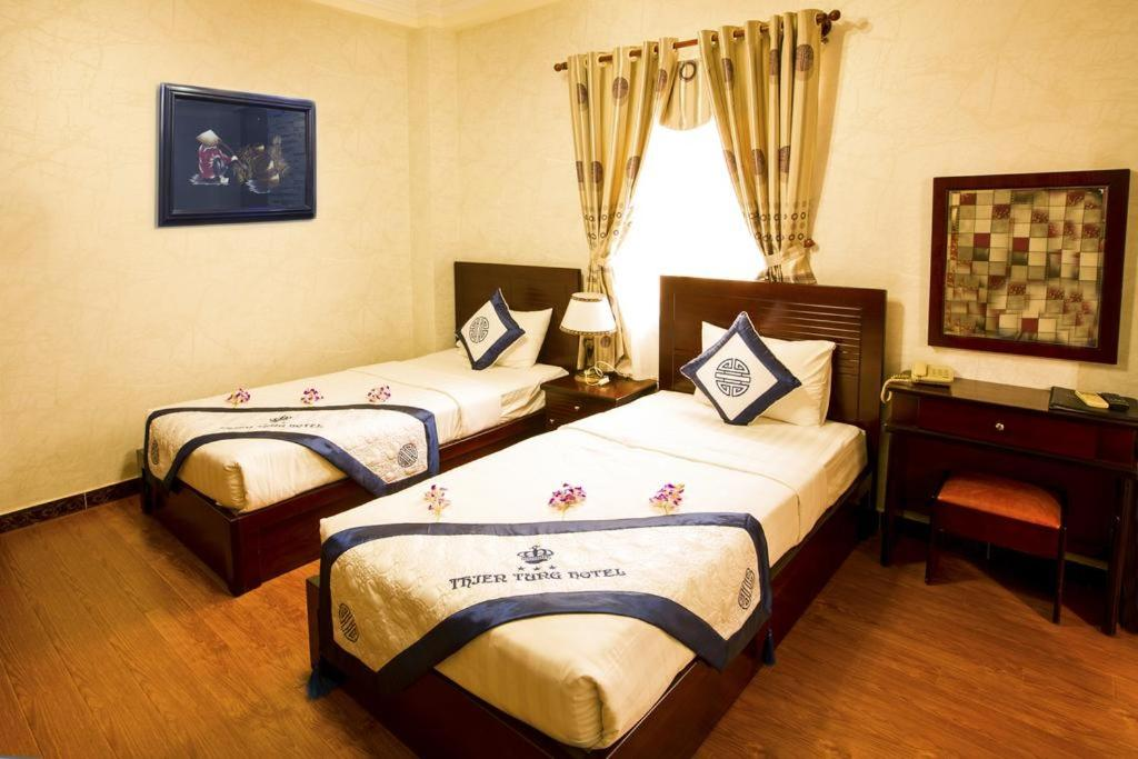 Phòng Deluxe 2 Giường Đơn có Cửa sổ