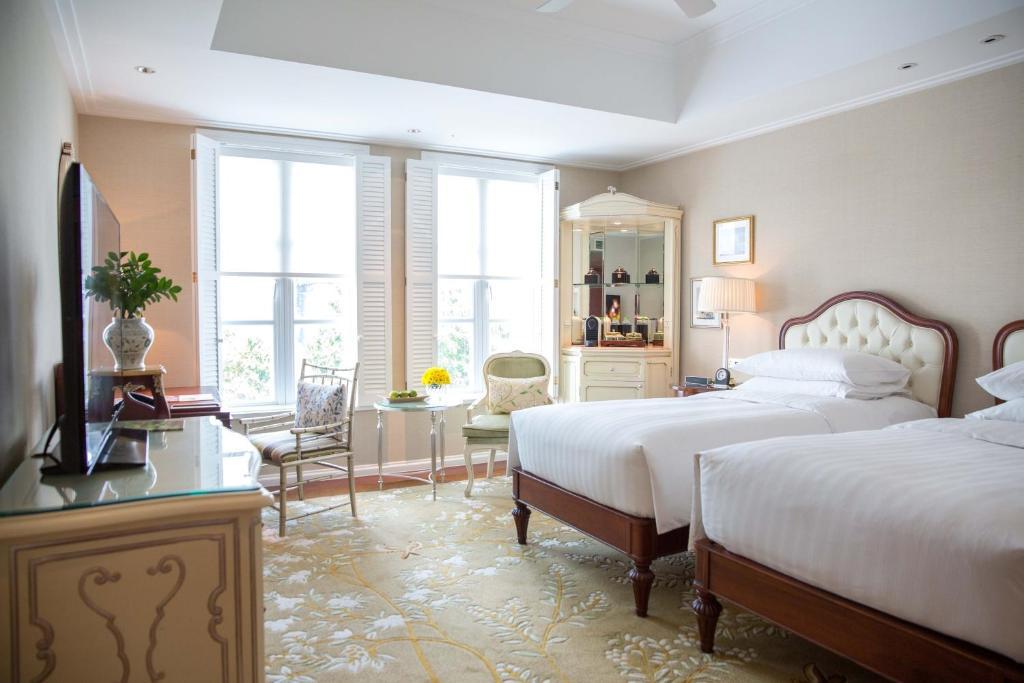 Phòng 2 Giường Đơn Nhìn ra Vườn