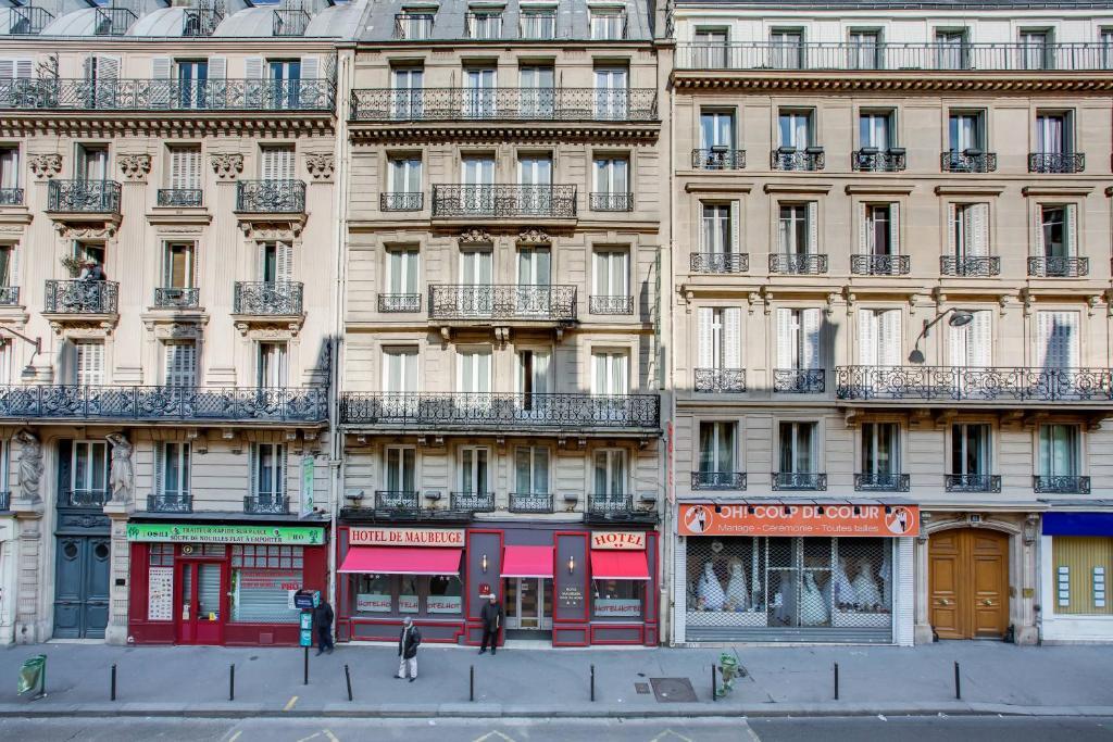 h tel maubeuge gare du nord paris book your hotel with viamichelin. Black Bedroom Furniture Sets. Home Design Ideas
