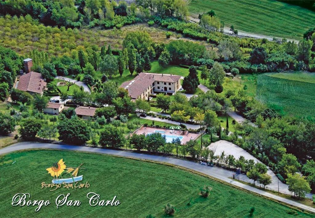 Residence borgo san carlo santa luce italy - Piscina san carlo ...