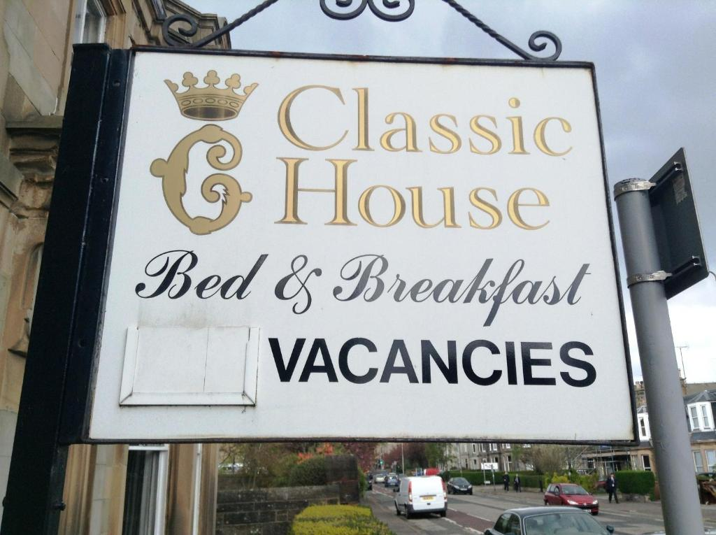 Classic guest house edinburgh book your hotel with for Classic house books
