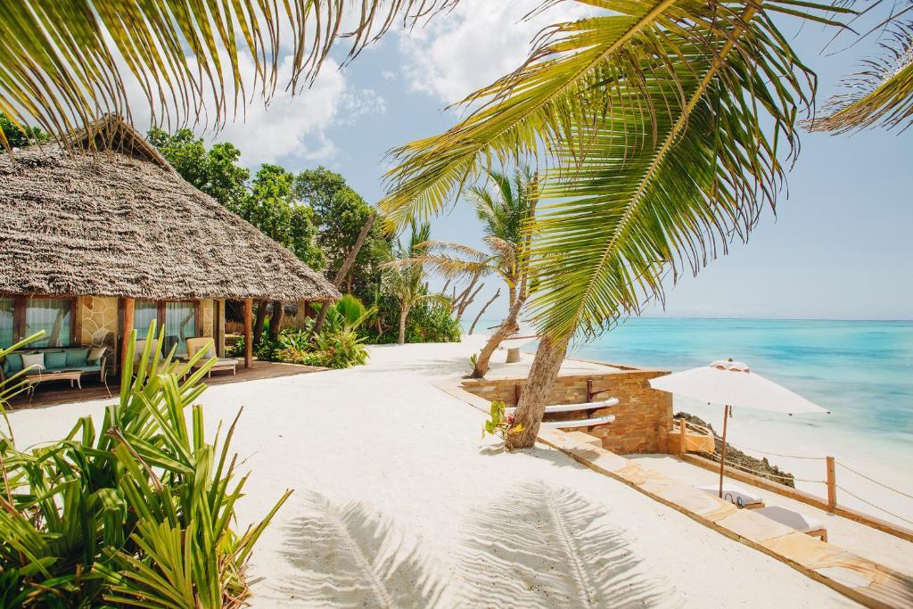 Playa en o cerca del resort