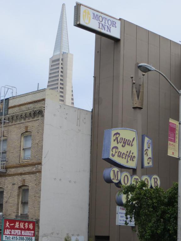 Royal Pacific Motor Inn San Francisco Book Your Hotel
