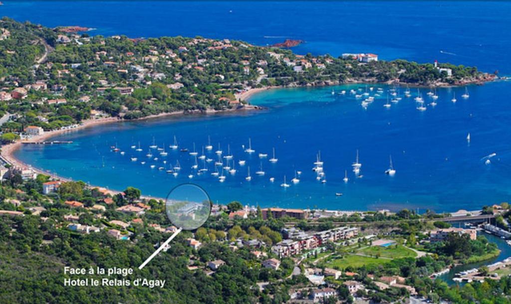 Le relais d 39 agay r servation gratuite sur viamichelin - Meteo marine port camargue saint raphael ...