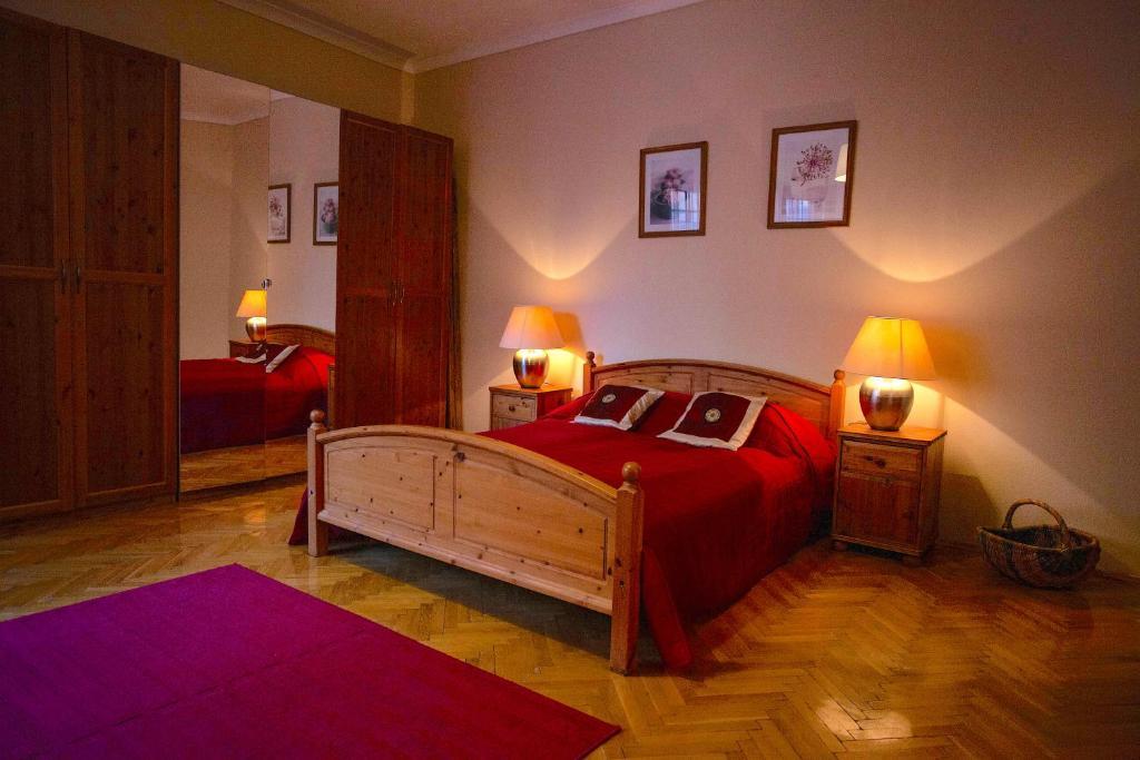 Cama ou camas em um quarto em Riverdale Residence