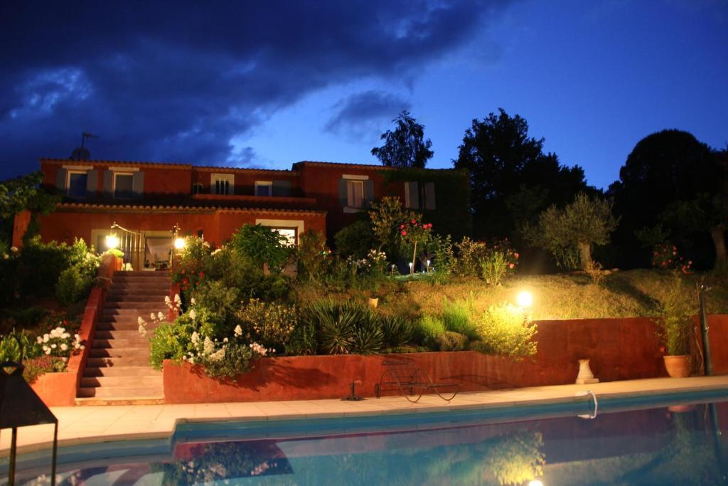 Chambres d 39 h tes villa des roses chambres d 39 h tes - Chambre d hotes roussillon vaucluse ...