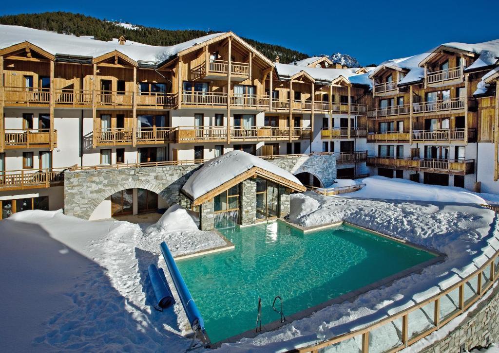 R sidence club mmv le hameau des airelles r sidences de - Office tourisme montgenevre hautes alpes ...