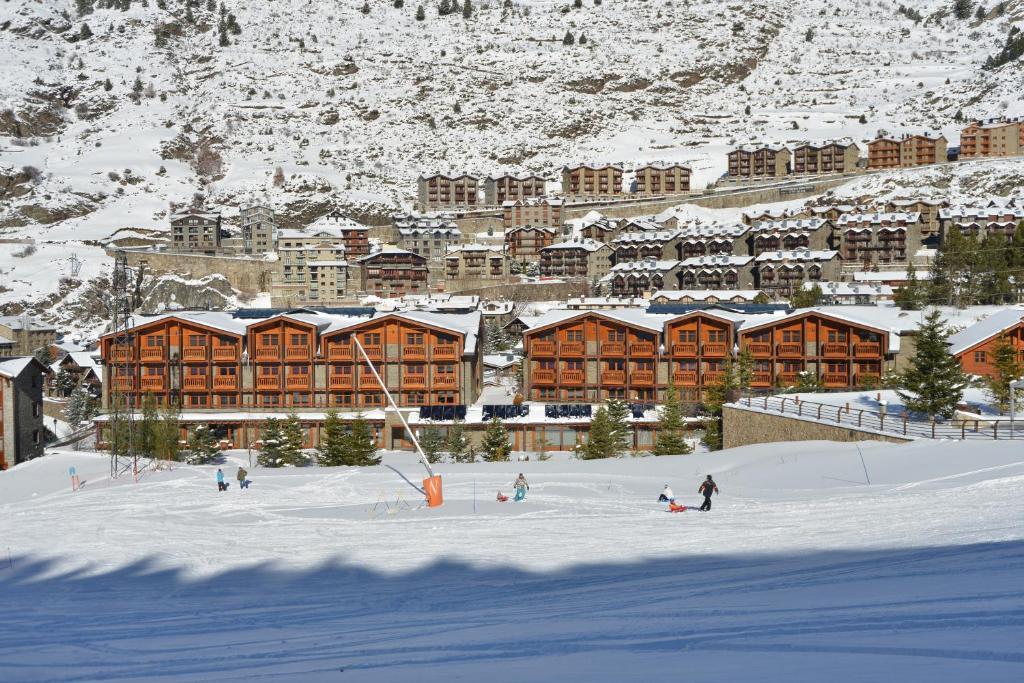 Hotel Nordic durante o inverno