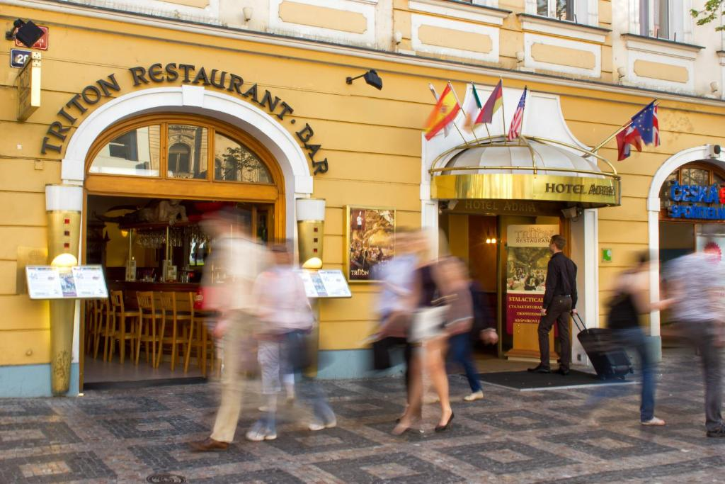 Adria hotel prague r servation gratuite sur viamichelin for Hotel reservation in prague