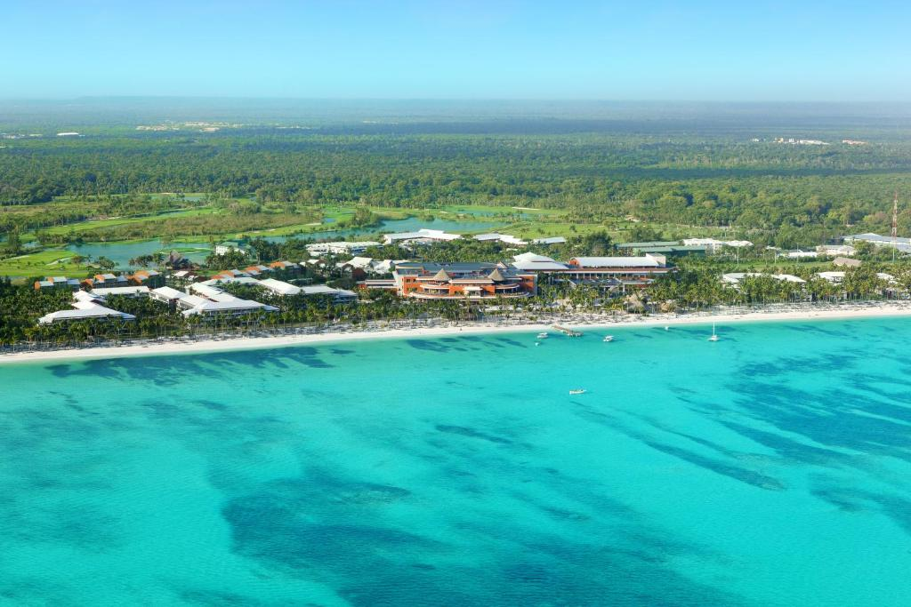 Una vista aérea de Barceló Bávaro Palace All Inclusive