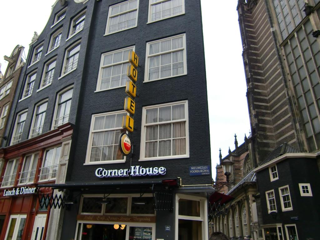 Hotel corner house amsterdam online booking viamichelin for Booking hotel amsterdam