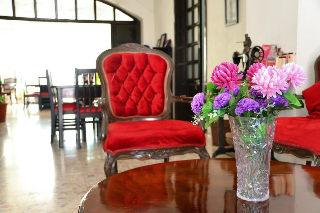 Uma área de estar em Hotel y Hostal Casa Don Alfonso
